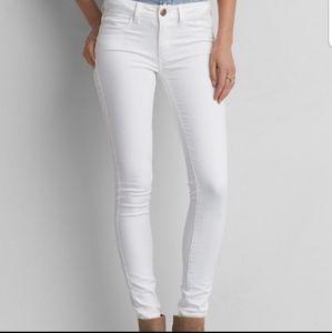 AE super super stretch skinny jeans